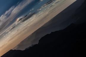 Rainbow Sunset. North Rim Grand Canyon, Arizona. June 2014.