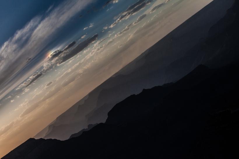 Rainbow sunset grand cayon Meg O'Neill