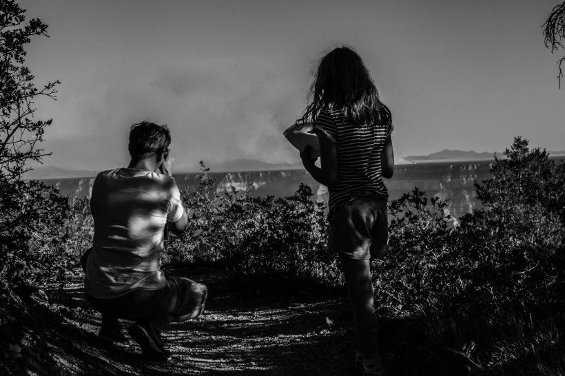Burn II. North Rim Grand Canyon, Arizona.  July, 2014.