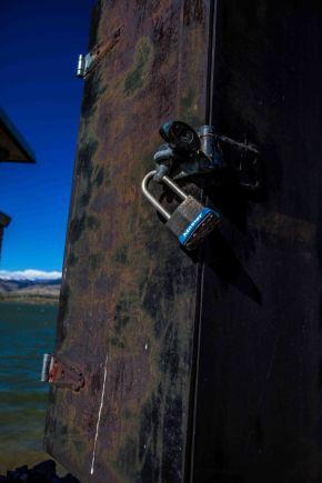 Locked. Meg O'Neill. Boulder Colorado. Oct 2014.