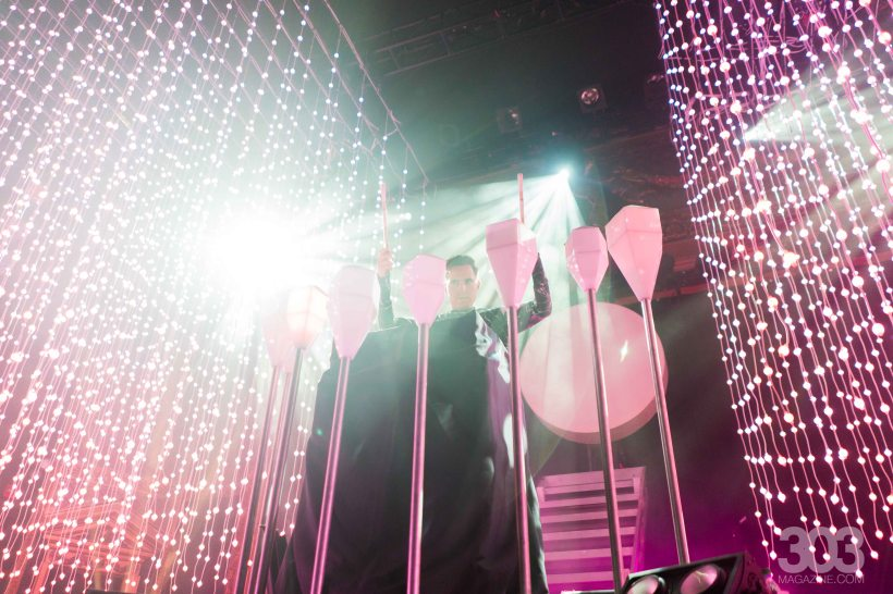 Purity Ring at The Ogden. 303 Magazine. Photographs by Meg O'Nei