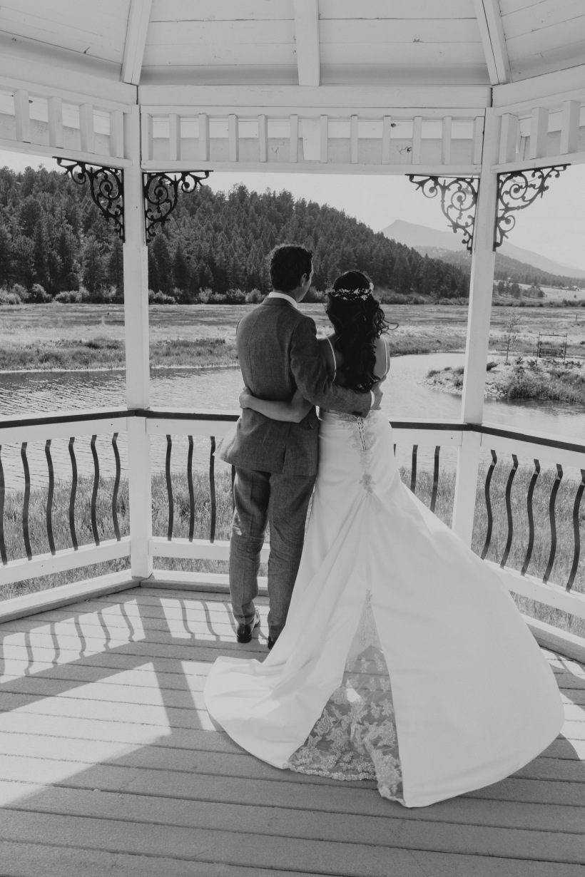 Deer Creek Valley Ranch, Colorado Wedding, Gazobo