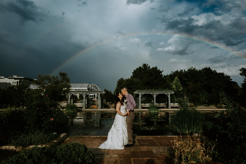 Denver Botanic Gardens Wedding, Wedding Photography, Colorado, Denver, Elopement